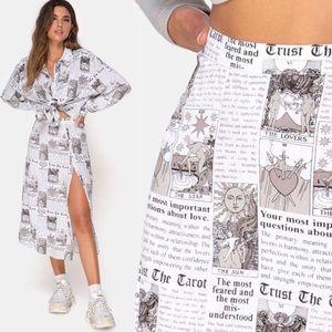 Dresses & Skirts - *PREORDER* Newsflash Newspaper Print Set